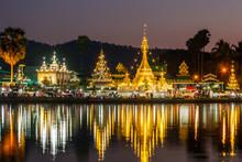 The Shan/Burmese Style Wat Cho...