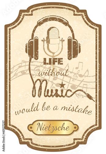 plakat-retro-muzyka-na-zywo