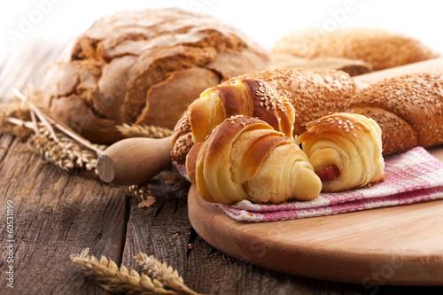In de dag Bakkerij fresh rolls and bread
