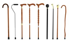 Realistic 3d Render Of Canes