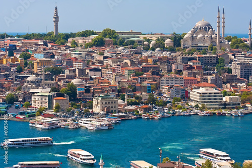 Photo sur Toile Turquie Golden Horn in Istanbul