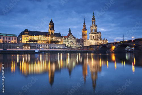City on the water Dresden.