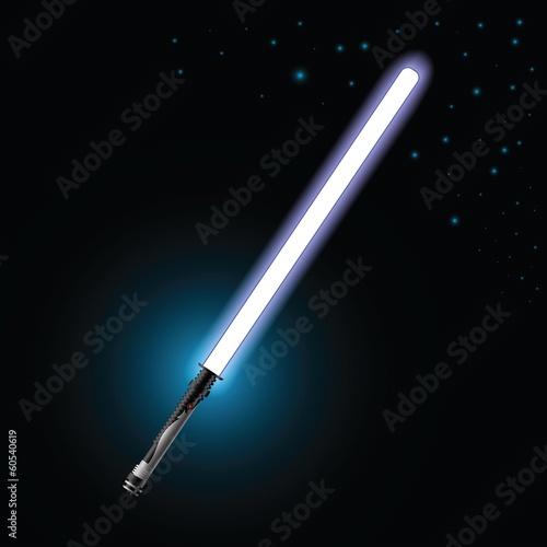 Fotografie, Tablou  light saber