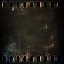 Dark Metal Rusty Grunge Film S...