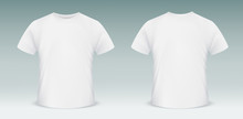 Blank T-shirt Template. Front ...