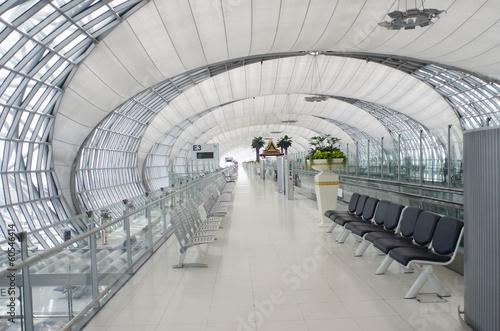 Obraz na płótnie Airport terminal in Bangkok