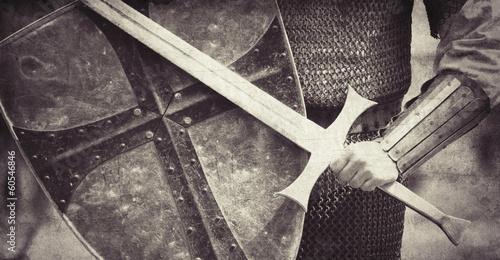 Fotografía Knight. Photo in vintage style