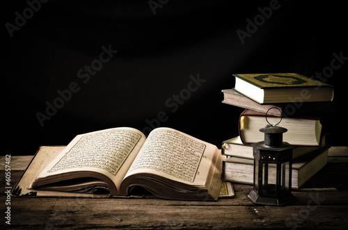 Fotografie, Obraz Koran - holy book of Muslims