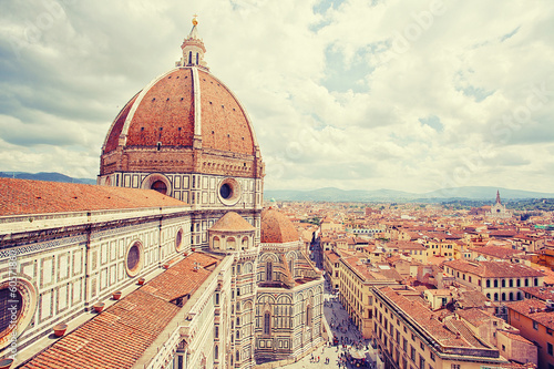 Photo sur Toile Florence Cityscape of Florence