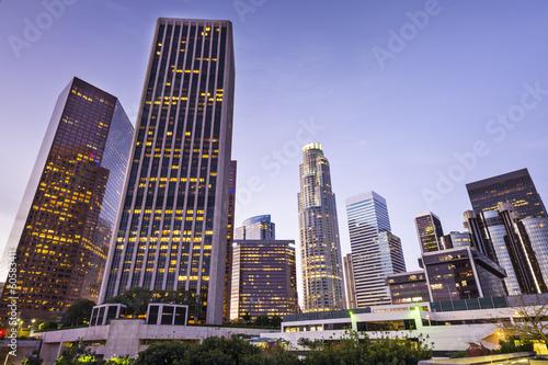 Staande foto Los Angeles Downtown Los Angeles, California Cityscape