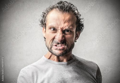 Fotografía Individuo enojado