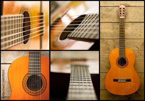 Spoed Foto op Canvas Muziekwinkel classical guitar