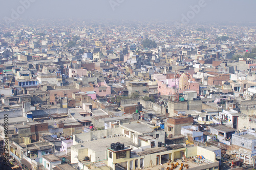 Cadres-photo bureau Delhi Old Delhi city view from the top