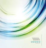 Vector textured elegant smooth swirl