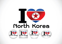 North Korea Flag Themes Idea D...