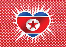North Korea Flag Themes Idea Design