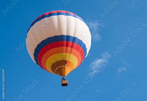 In de dag Ballon Multicolored Balloon in the blue sky