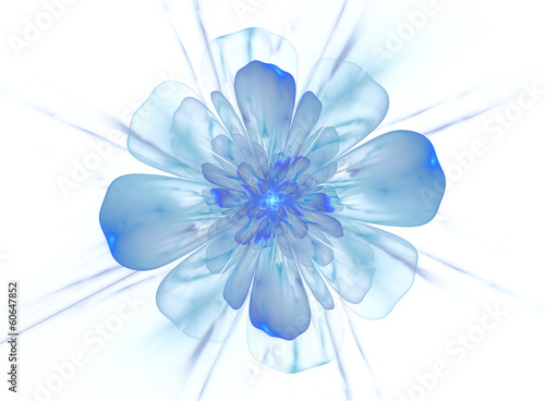 ozdobny-blekitny-piekny-kwiat-akwarela