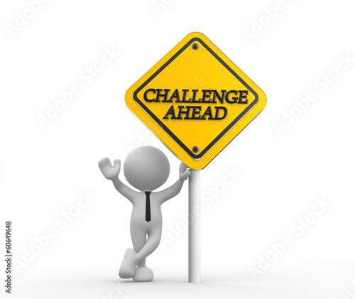 Obraz na plátne Challenge ahead