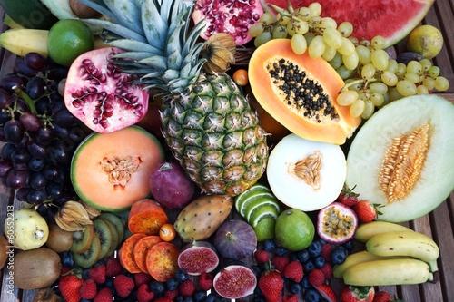 Fotografie, Obraz  Tropische Früchte