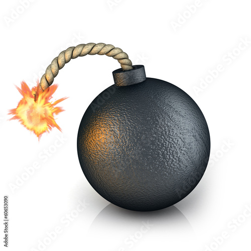 Fototapeta bomb