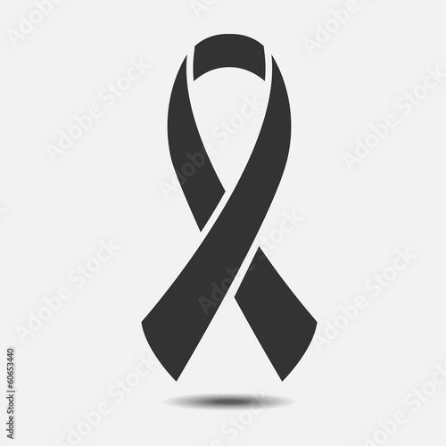 Fotomural  Vector AIDS awareness ribbon sign or icon