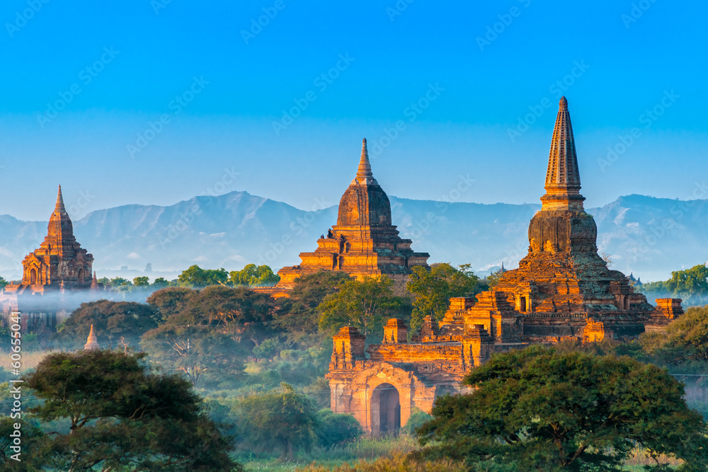 Fototapeta Bagan, Myanmar.