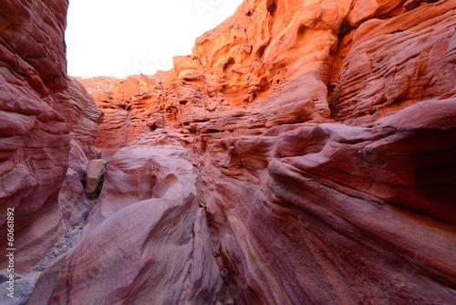 Fotografie, Obraz  Coloured Canyon in the Egypt