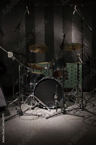 Fotografia drums in the studio
