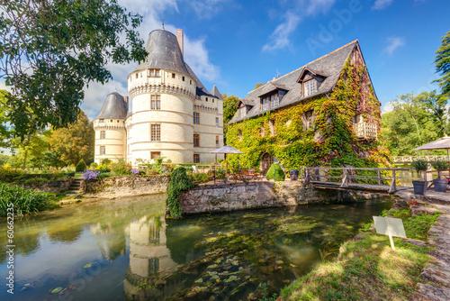 Foto op Plexiglas Kasteel The chateau de l'Islette, France