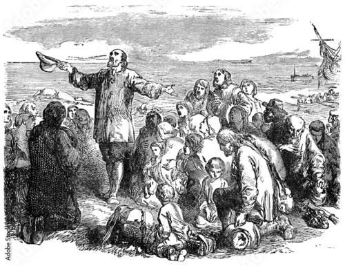 Pilgrim Fathers Wallpaper Mural