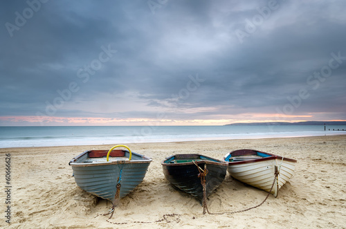 Fotografia  Boats at Durley Chine