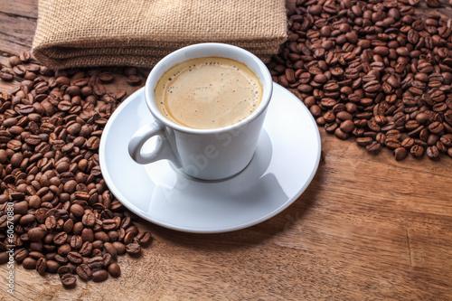 Deurstickers koffiebar freshly brewed espresso