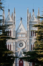 Catholic Church Of Saviour Also Called Xishiku Church In Beijing
