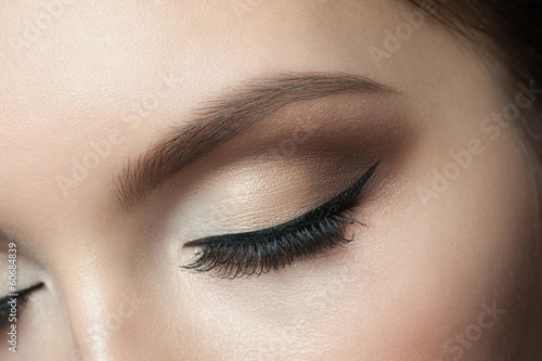 Eye Makeup Canvas Print