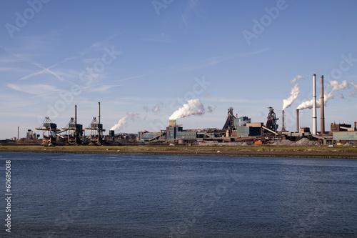Fotografie, Obraz  Hoogovens steelindustry ijmuiden, The Netherlands.
