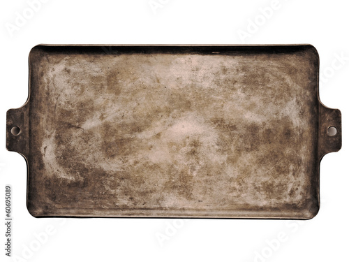 Valokuva  old rustic baking sheet