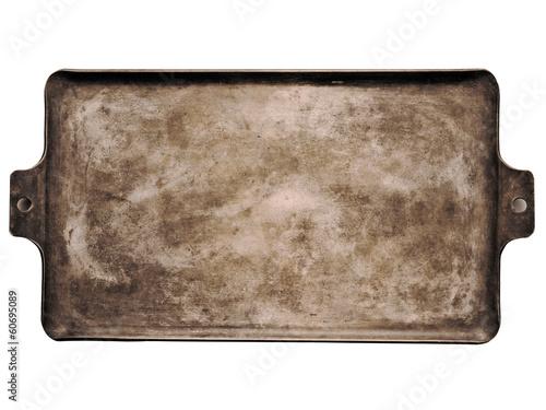 old rustic baking sheet Canvas-taulu