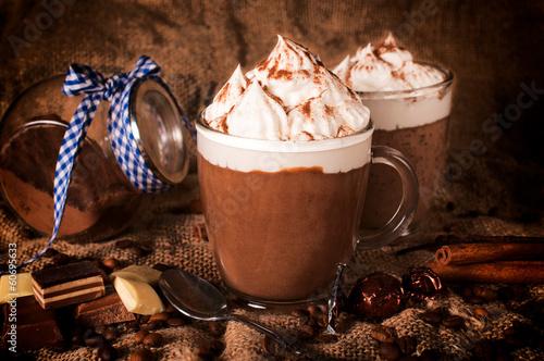 Foto op Canvas Chocolade Hot chocolate
