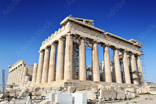 Spoed Foto op Canvas Athene Parthenon in Acropolis, Athens