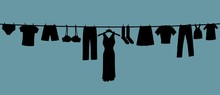 Long Clothes Line