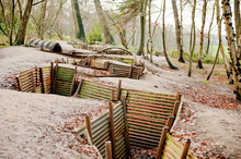 WW1 Trenches, Sanctuary Wood, ...