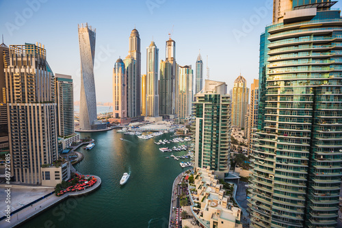 Dubai Marina. UAE Canvas Print