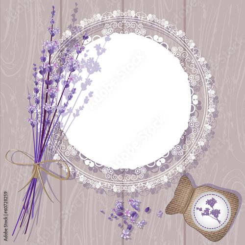 Photo  Vector Lavender Background