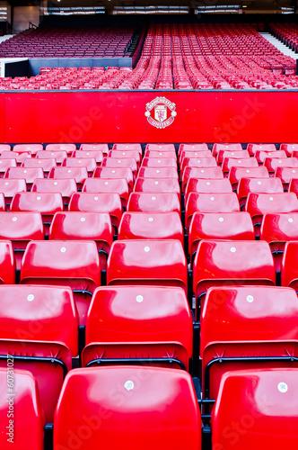 Photo  MANCHESTER, ENGLAND : Old Trafford stadium