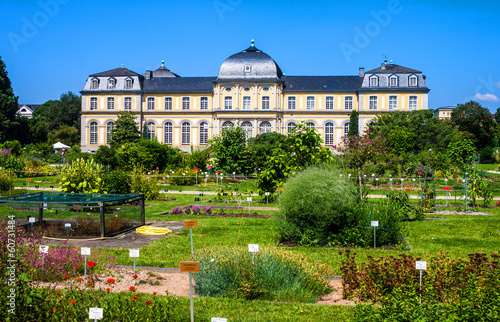 Foto auf Leinwand Schloss Poppelsdorf Palace