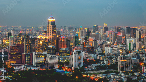 Valokuva  Modern Commercial City (Bangkok)