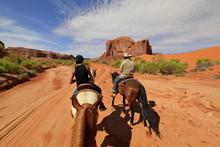 Randonnée à Cheval à Monument Valley, Arizona