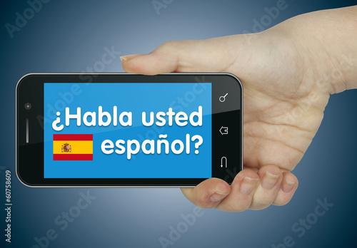 Habla usted español? Móvil
