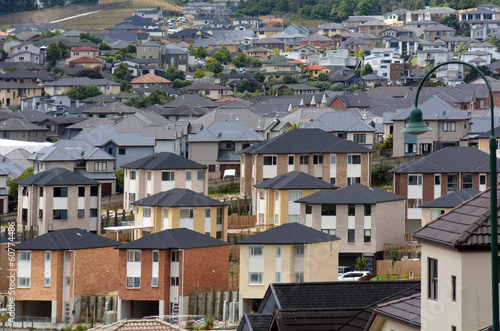 New Zealand Housing Property and Real Estate Market Fototapet